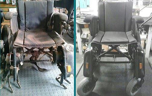 Reforma de cadeira motorizada marca Freedom